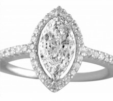 marquise cut diamond rings